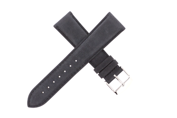 21mm Leather Nubuck Dark Grey