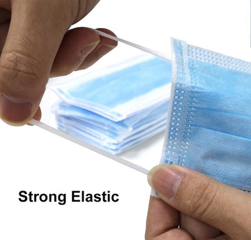 3 Layer Protective Mask - Dispsosible - 50 Pack