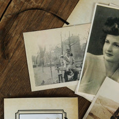 Vintage Photographs - Pack of 12