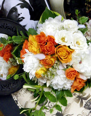 Tangerine Dream Bridal Bouquet