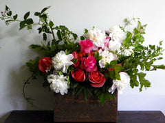 From The Garden Centerpiece in Barnwood Box