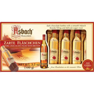 Asbach Brandy Bottles-Dark