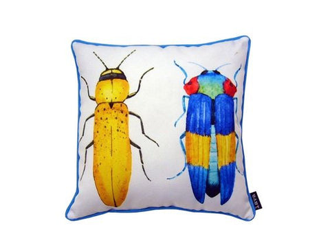 Two Beetles Pillow