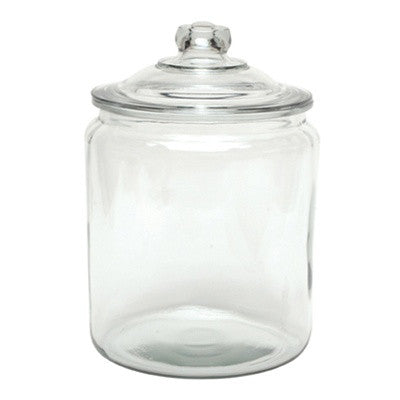 2 Gallon Glass Jar with Lid