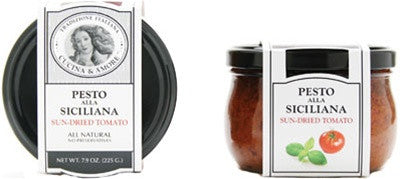 Siciliana Sun Dried Tomato Pesto jar