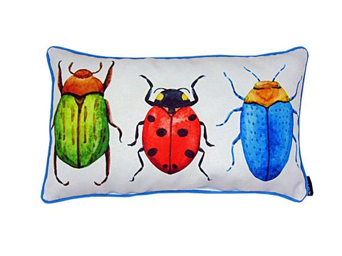 Three Beetles Pillow