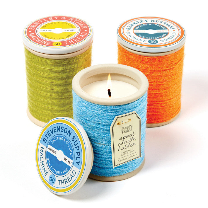 Large Spool Candle