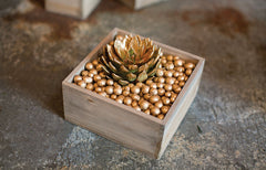 Low Square Woodland Planter