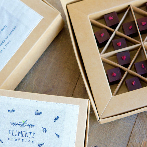 Raspberry Truffles with Beetroot Infusion - Box of 8