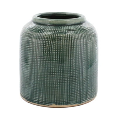 Ting Ceramic Pot - Medium - Lake Blue