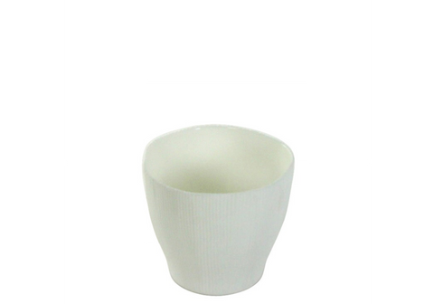 Agora Bone China Vase - Small - White
