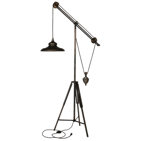Arris Balanced-Arm Tripod Floor Lamp