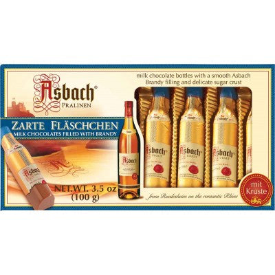 Asbach Brandy Bottles-Milk