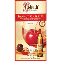 Asbach Large Brandy Filled Chocolate Cherries Box