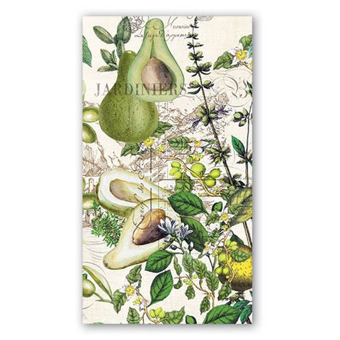 Avocado Hostess Napkins
