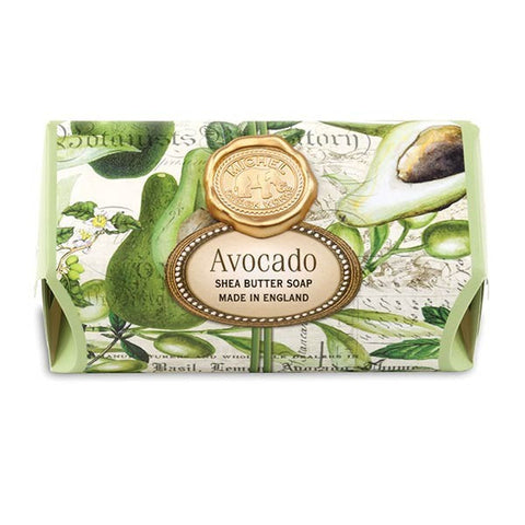 Avocado Large Bath Soap Bar