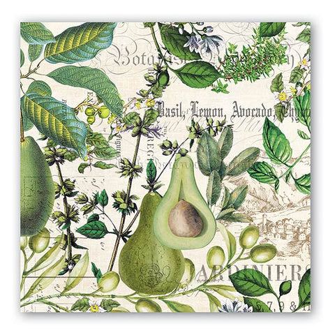 Avocado Luncheon Napkins