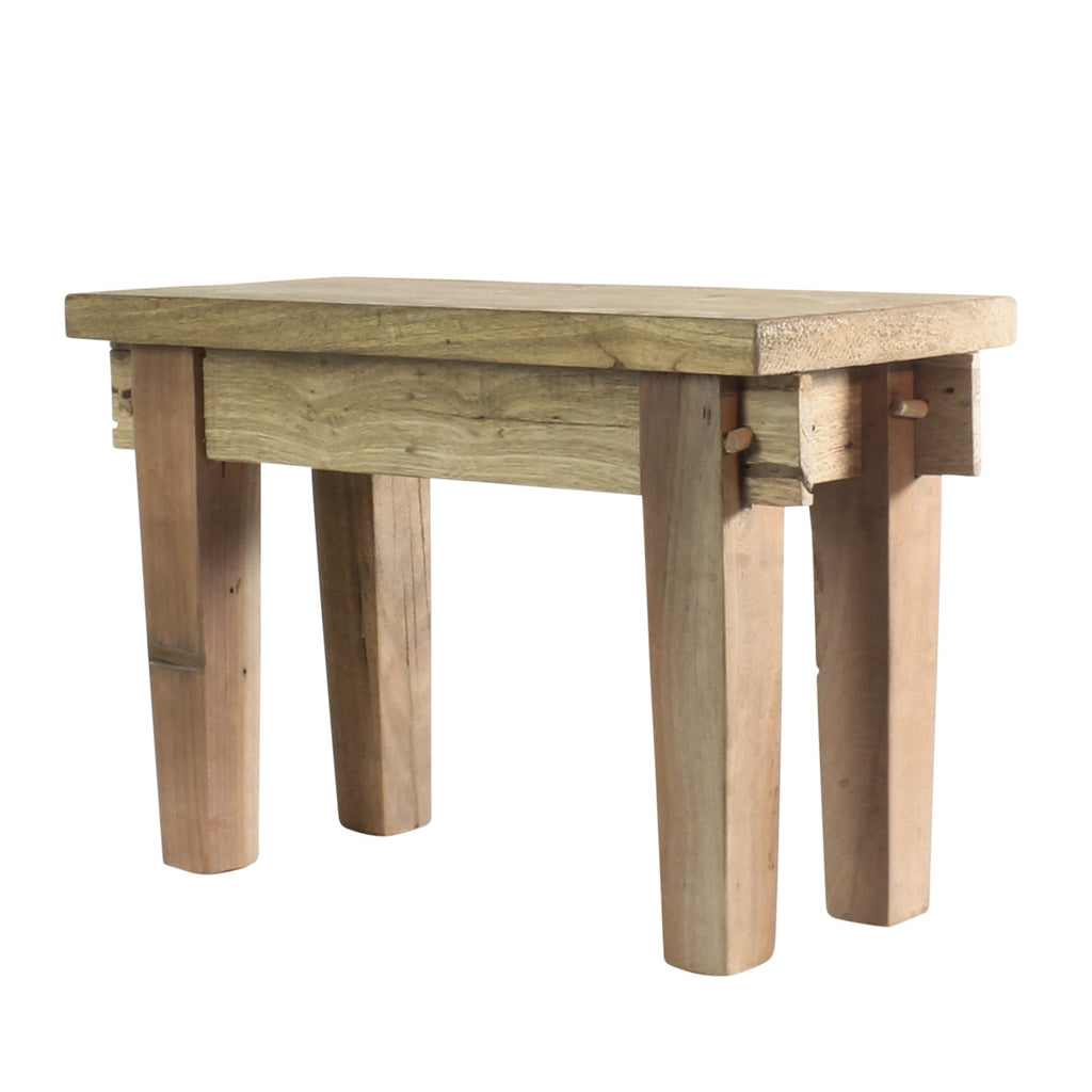 Braden Wood Foot Stool