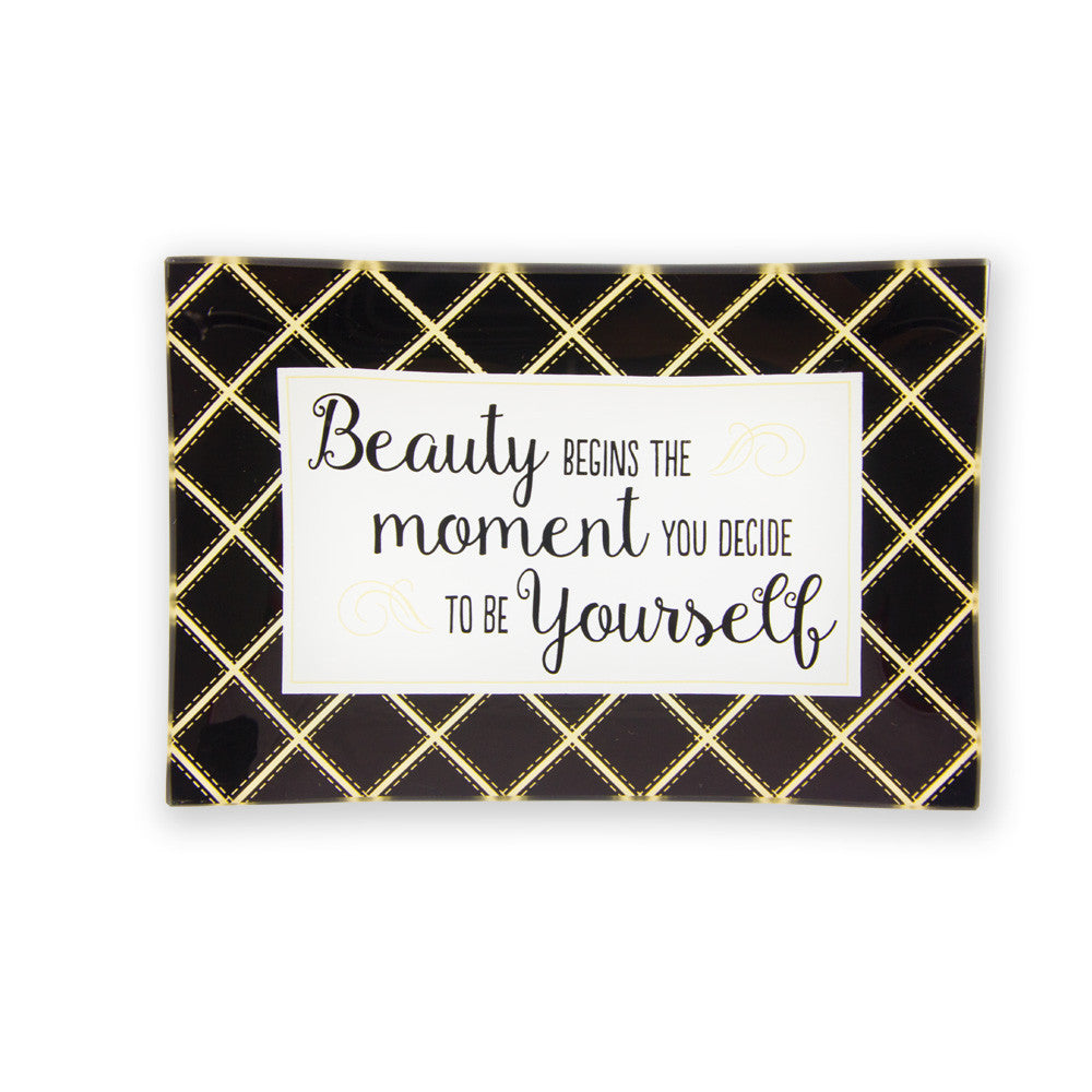 Be Yourself Trinket Tray
