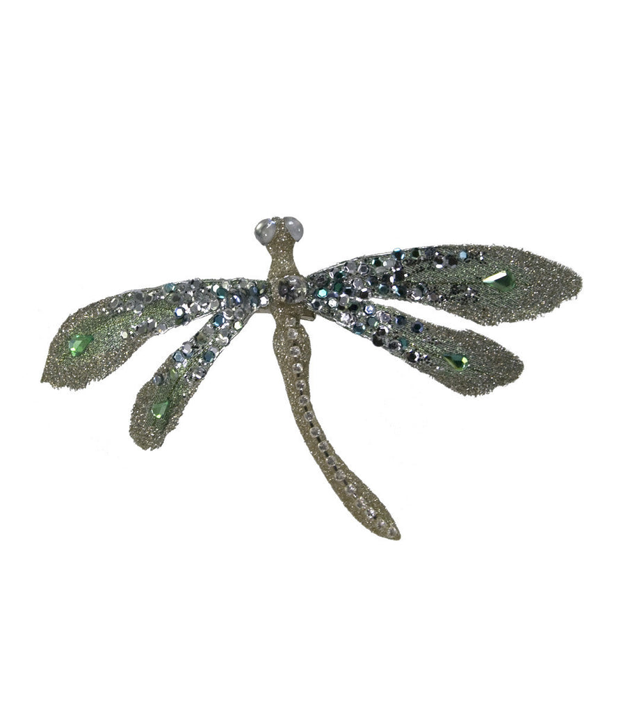 Katherine's Collection Botanica Encrusted Dragonfly Clip