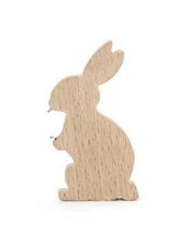 Wooden Bottle Opener Rabbit