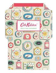 Cath Kidston Clocks Fold and Mail® Stationery