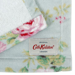 Cath Kidston Antique Rose Face Cloth, Blue