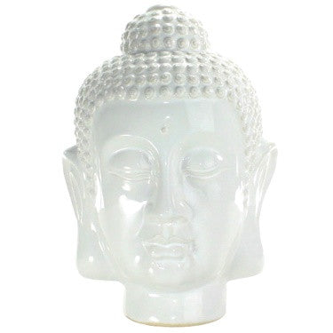 Ceramic Buddha Head - Large