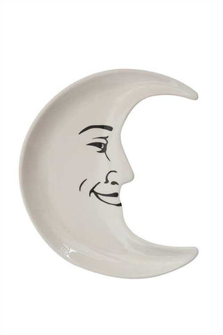 Ceramic Moon Shaped Plate