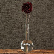 Chemistry Glass Round Flask Vase - 500ml - Clear