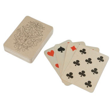 Deck of Wooden Playing Cards