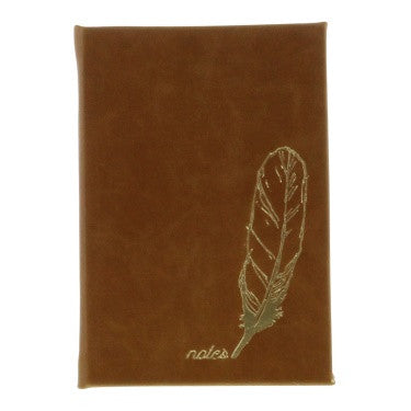 Embossed Journal - Notes - Camel