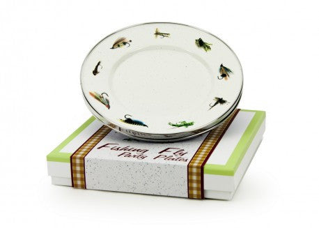 Fishing Fly Party Plates