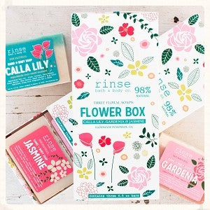 Flower Box Soap Set