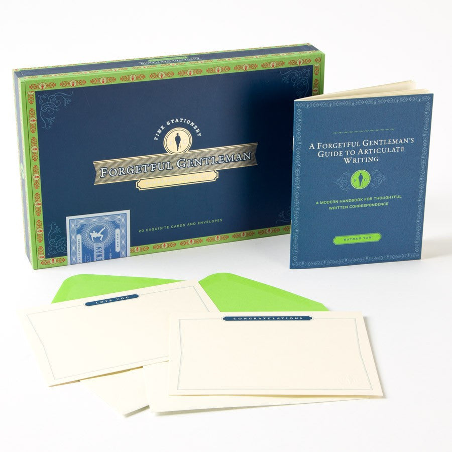 The Forgetful Gentleman Stationery Box