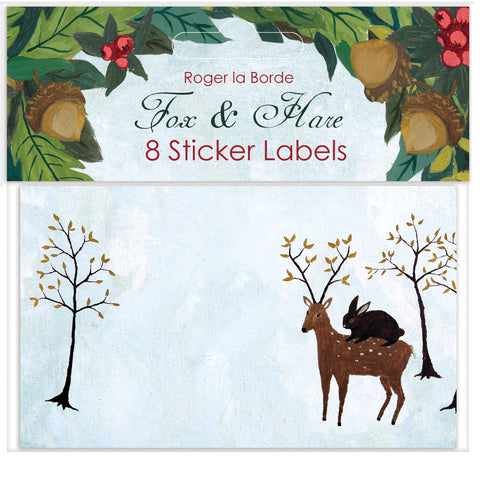 Fox & Hare Sticker Lables