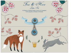 Fox + Hare Writing Paper Set