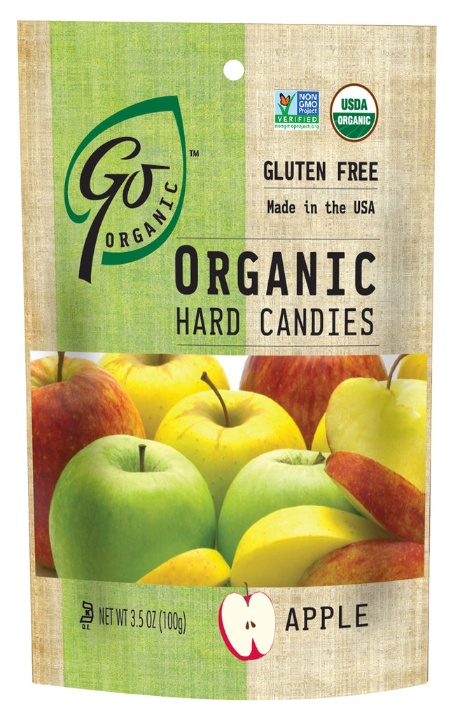 Go Naturally Apple Hard Candy