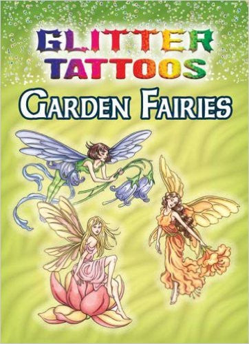 Glitter Tattoos Garden Fairies by Darcy May