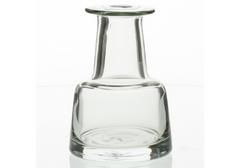 Graduated Glass Vase - Medium Body - Clear