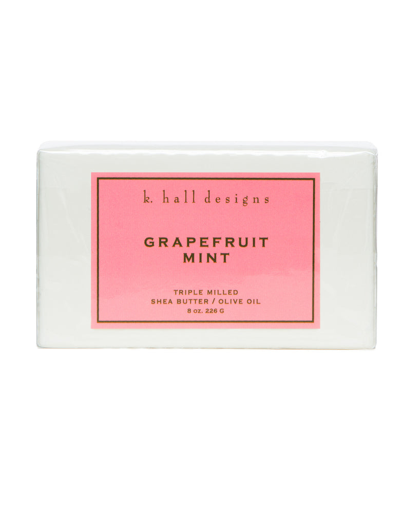 Grapefruit Mint Triple Milled Bar Soap