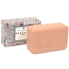 Honeyed Grapefruit Awakening Goat Milk Bar Soap from BEEKMAN 1802