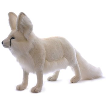 Arctic Fox Stuffed Animal by Hansa