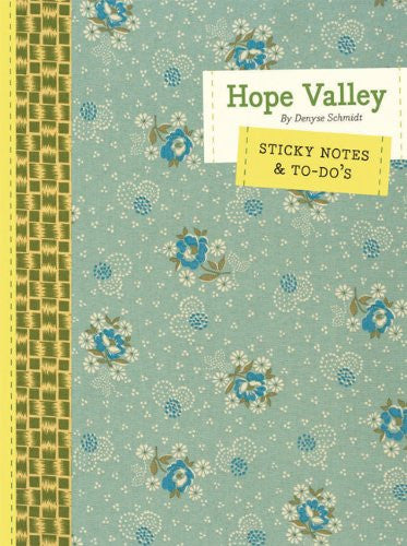 Hope Valley Sticky Notes & To-Do's by Denyse Schmidt
