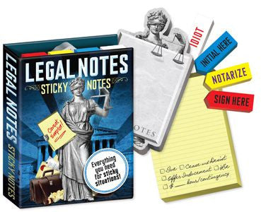 Legal Sticky Notes
