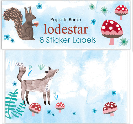 Ladestar Sticker Lables