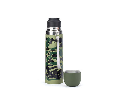 Large Camo Thermos