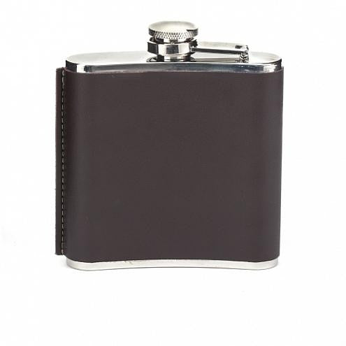 Leather Hip Flask 6OZ
