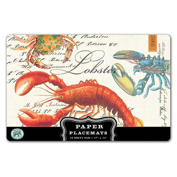 Lobster Paper Placemat