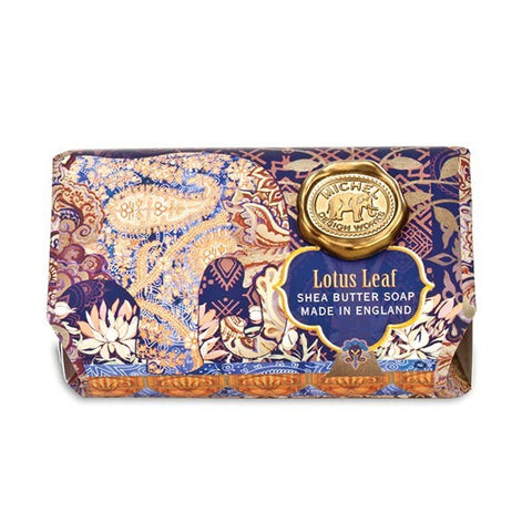 Lotus Leaf Large Bath Soap Bar